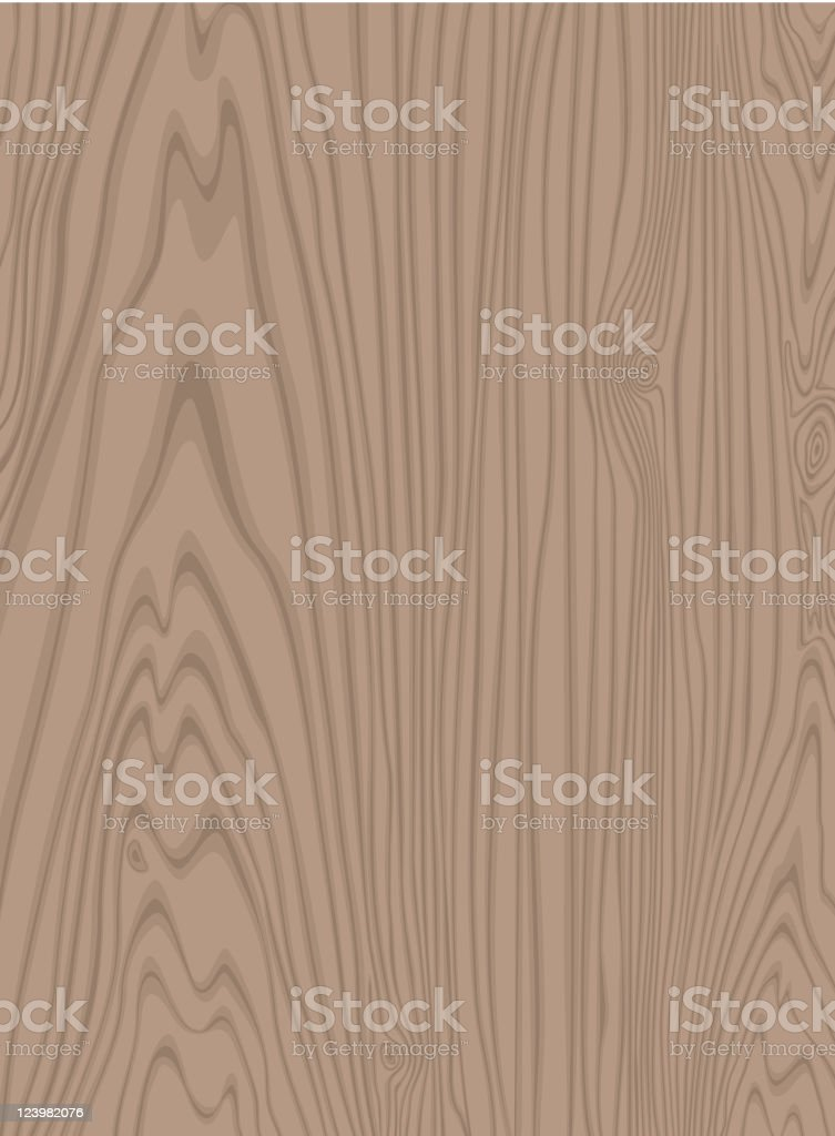 Close-up of the wooden texture with light complexion royalty-free stock vector art