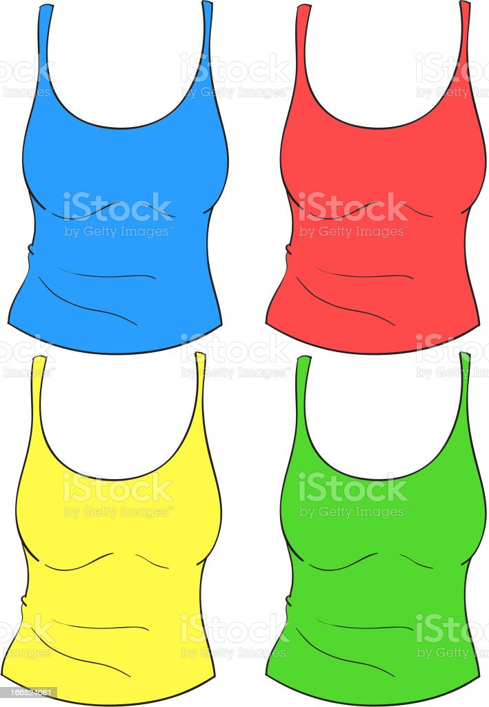 Clothes royalty-free stock vector art