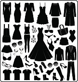 Clothing- Fashion Silhouette