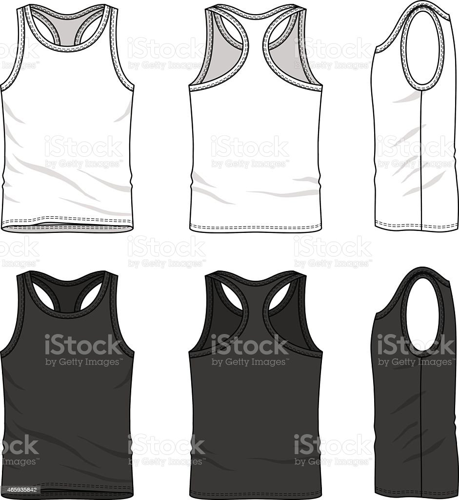Clothing set vector art illustration
