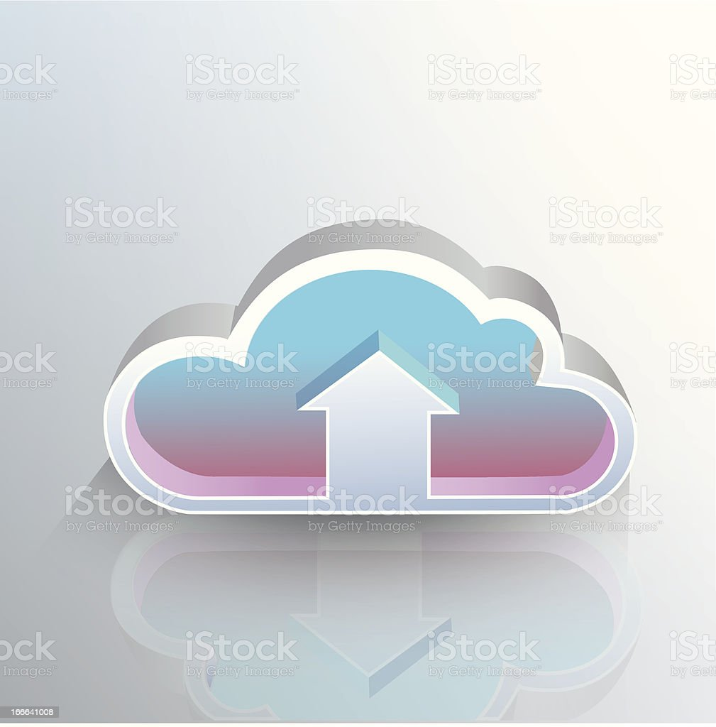 Cloud concept royalty-free stock vector art