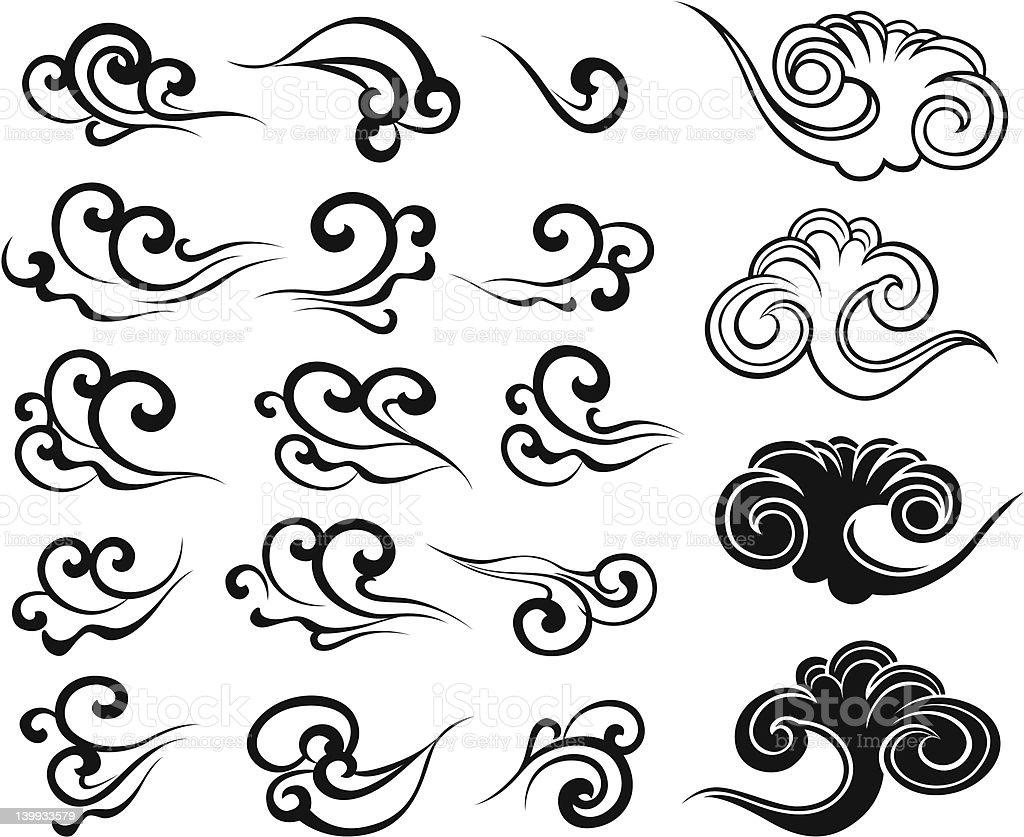 Illustrazione di cloud illustrazione royalty-free
