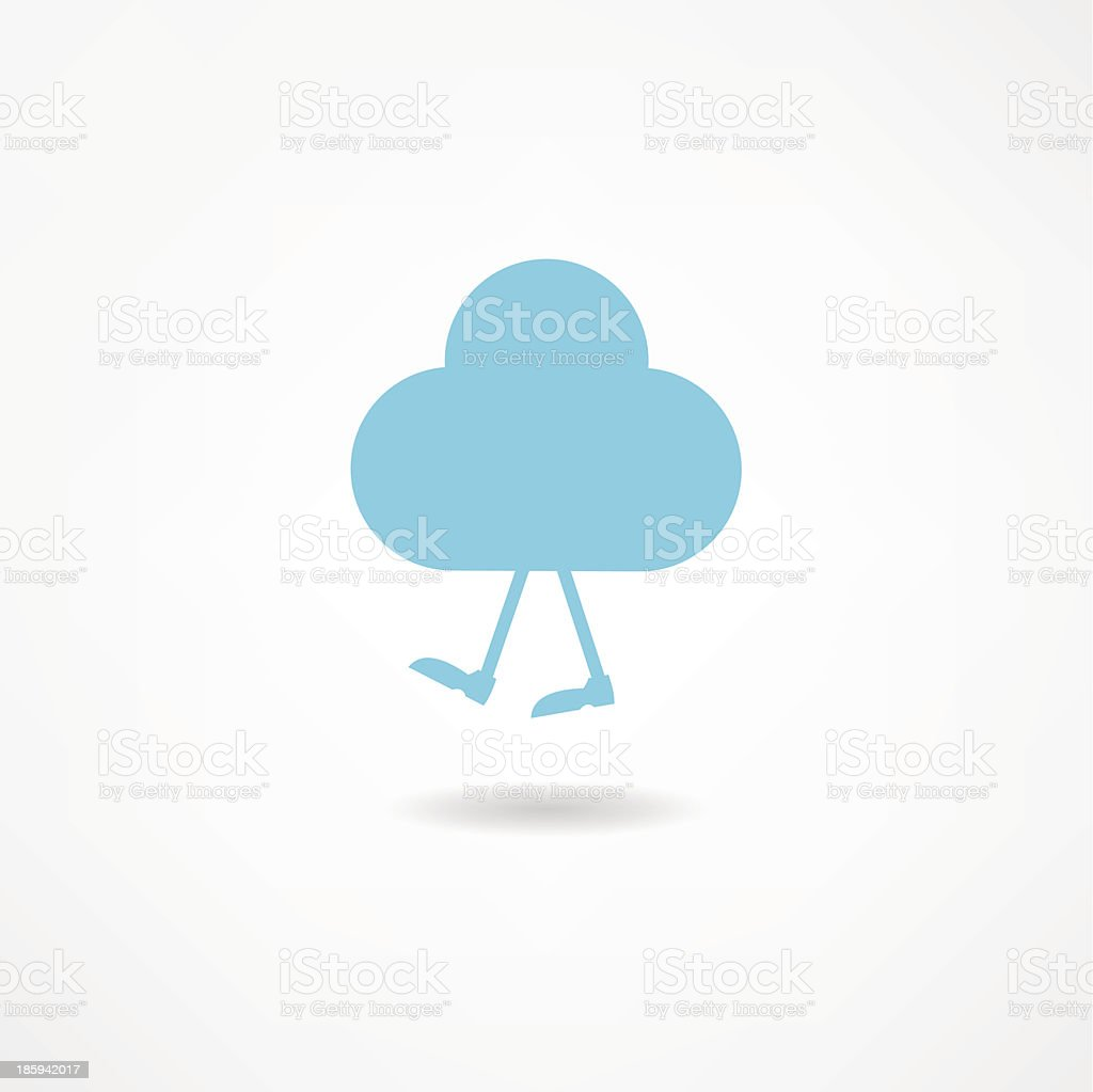 Cloud royalty-free stock vector art