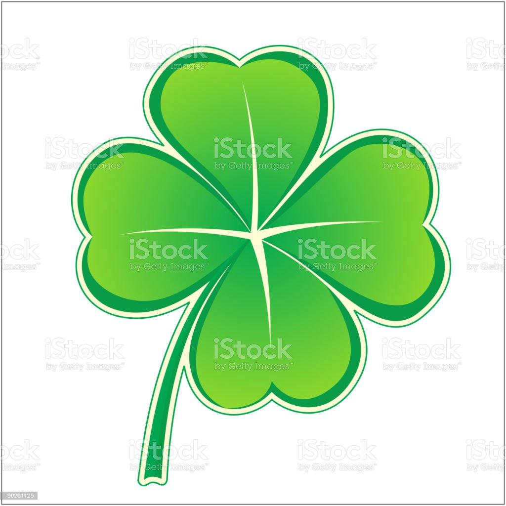 clover icon royalty-free stock vector art