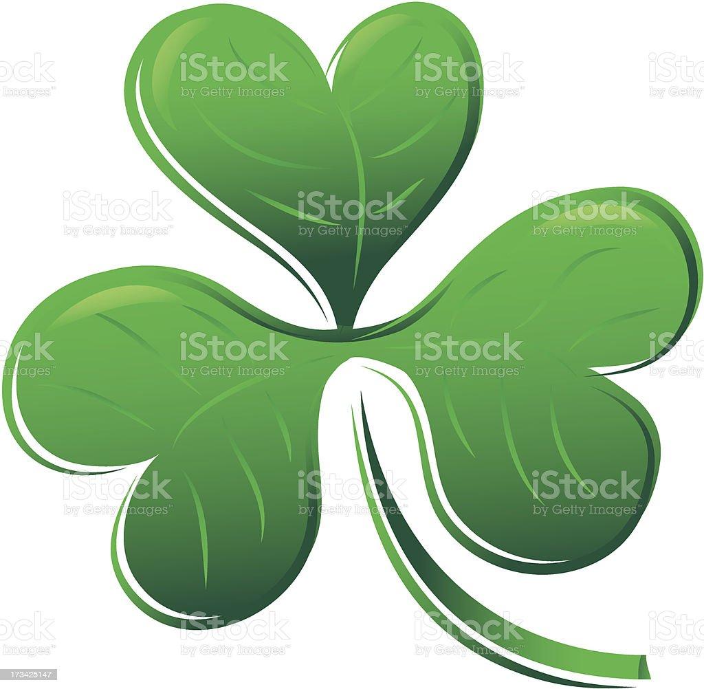 clover shamrock royalty-free stock vector art