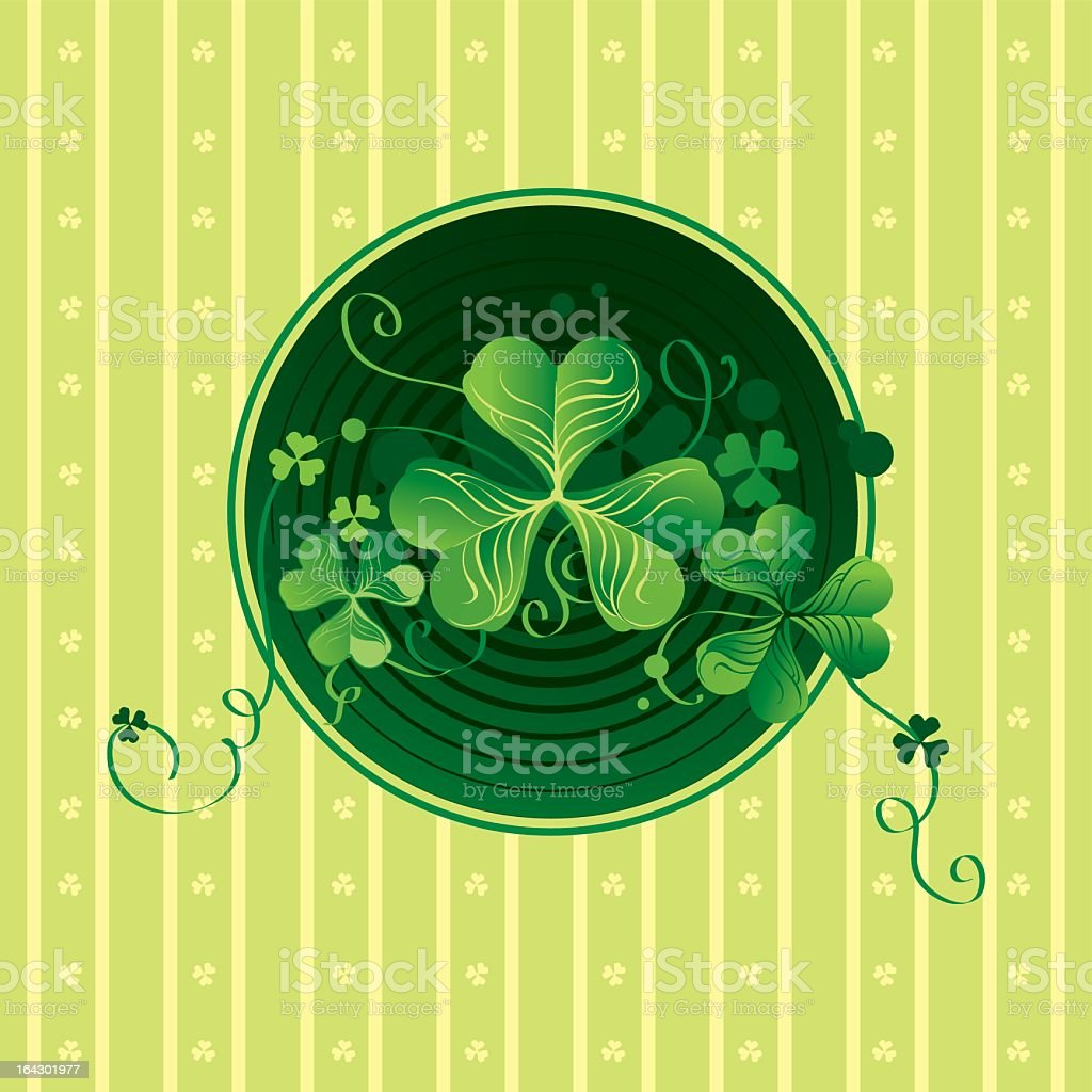 clover royalty-free stock vector art