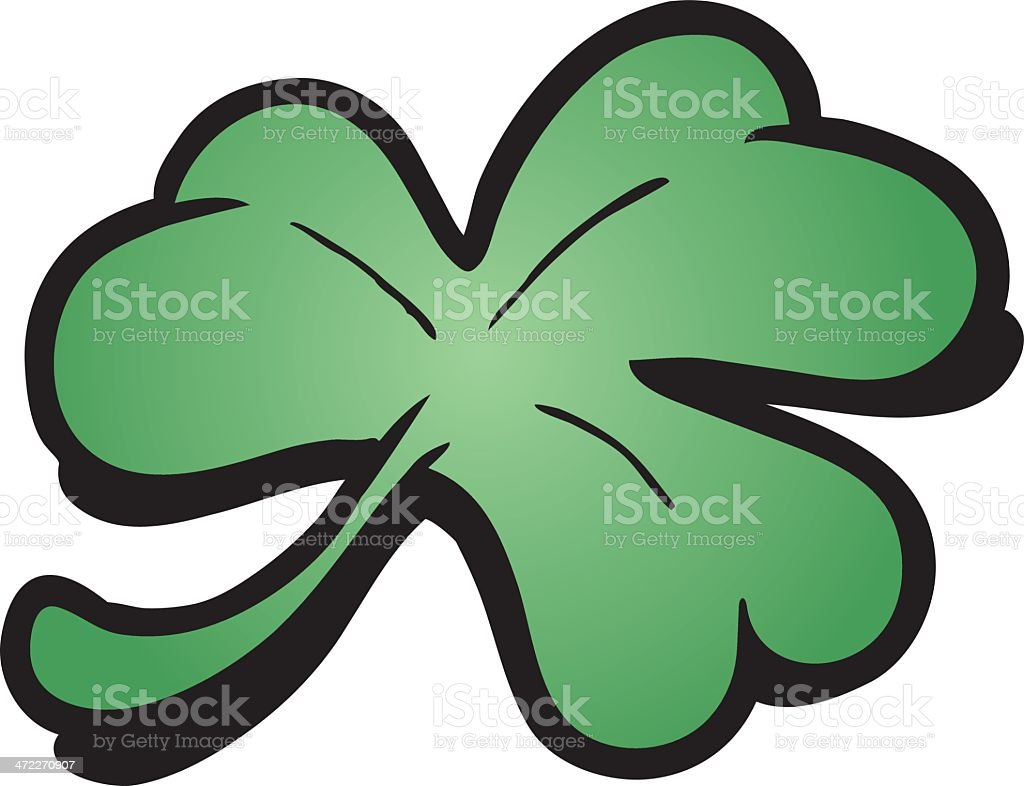 Clover royalty-free stock vector art