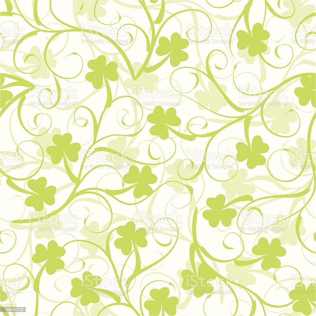 Clovers . royalty-free stock vector art