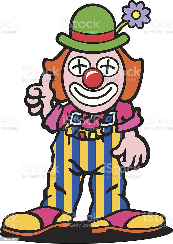 Clown royalty-free stock vector art