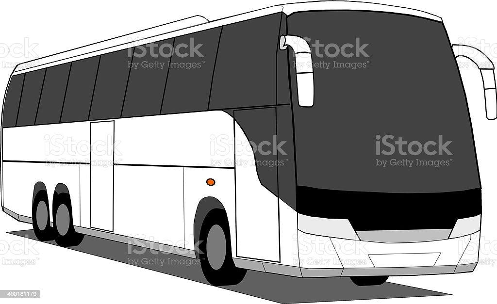 Coach vector art illustration