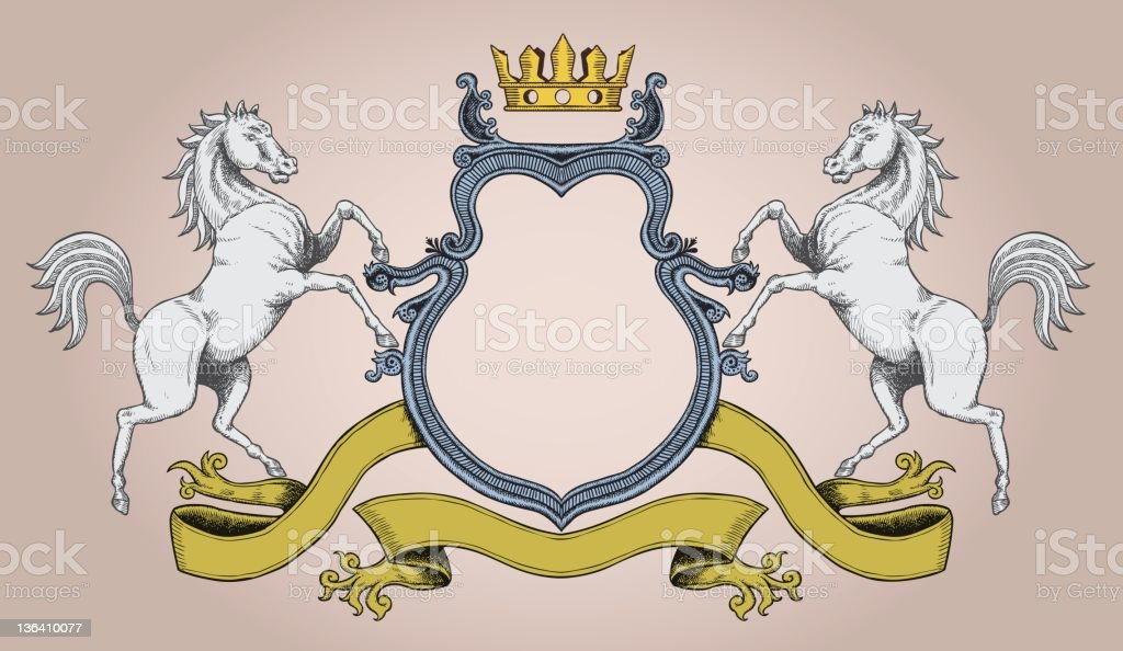 Coat of Arm royalty-free stock vector art
