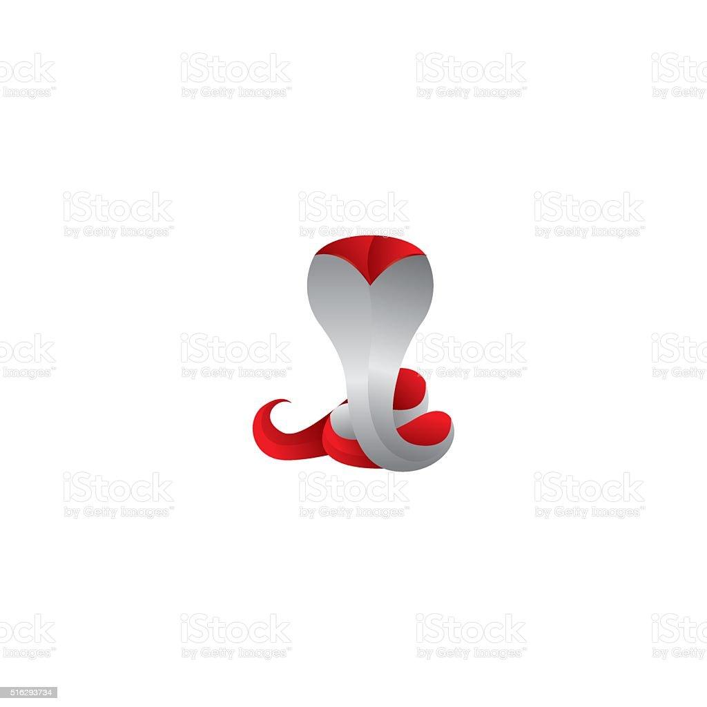 Cobra logo vector art illustration