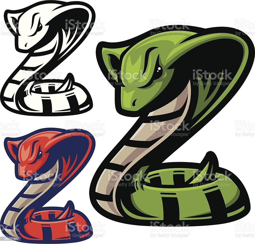 Cobra Snake royalty-free stock vector art