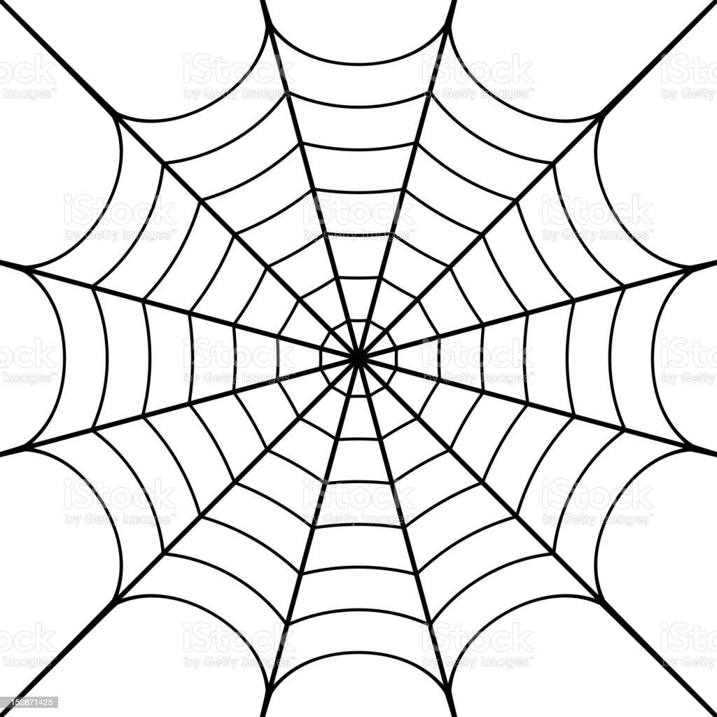 Cobweb vector art illustration