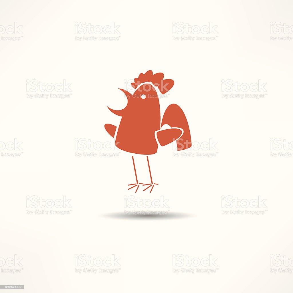 cock royalty-free stock vector art