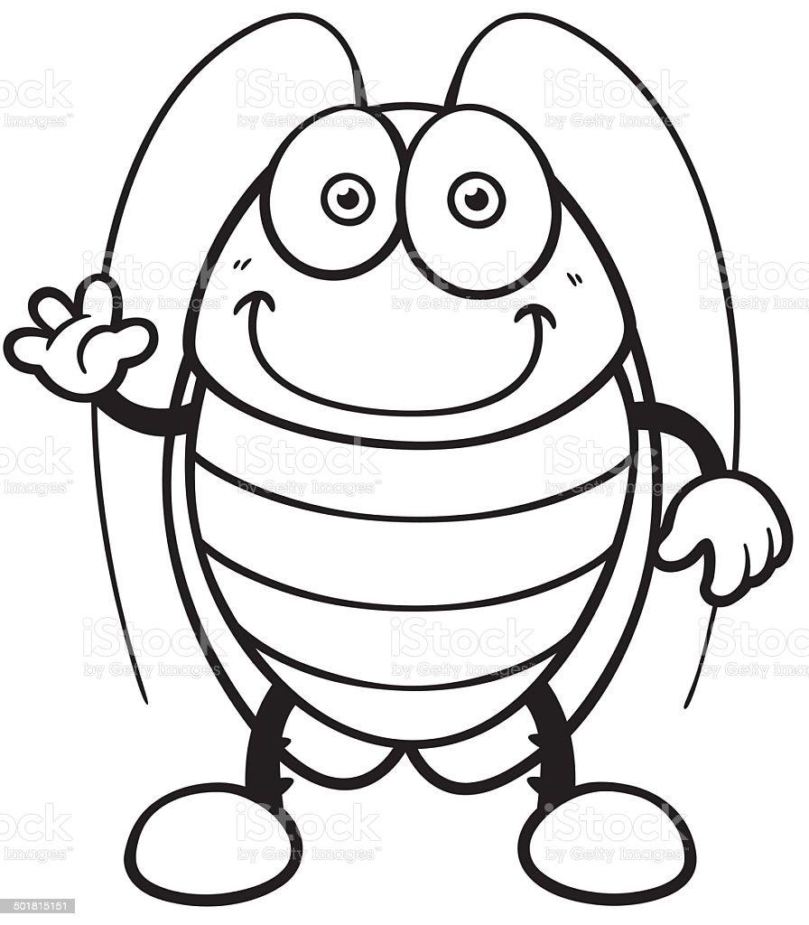 Раскраска тараканы