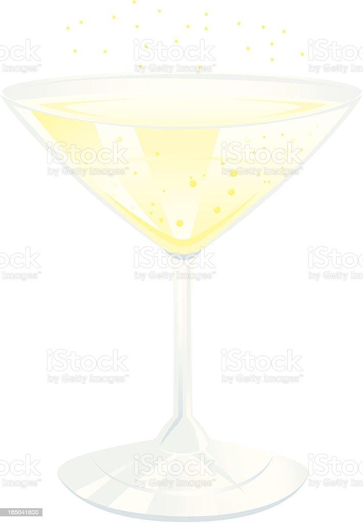 Cocktail - Vector vector art illustration