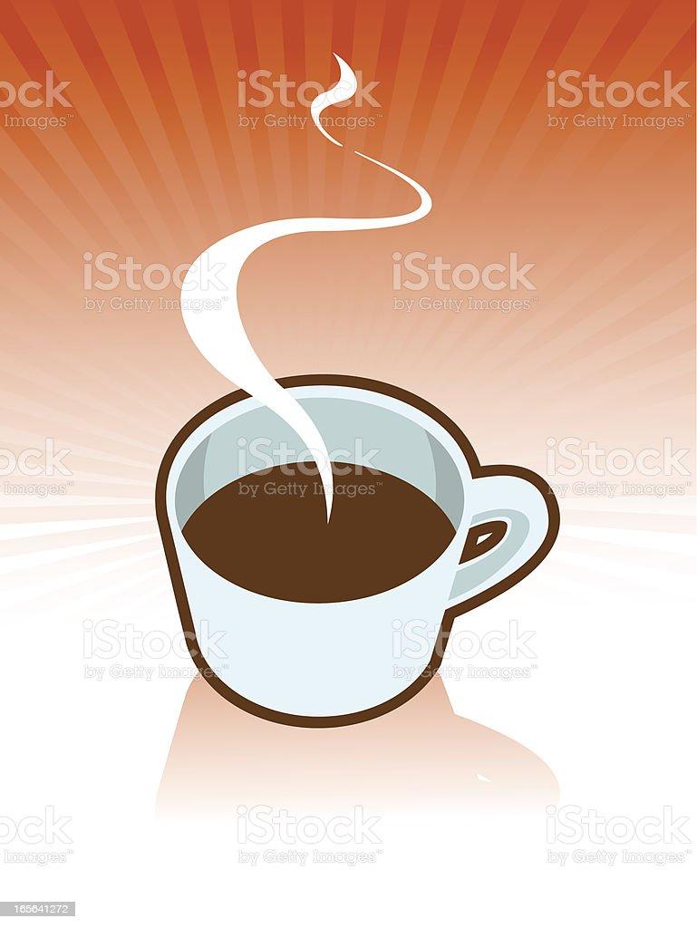 coffe vector art illustration