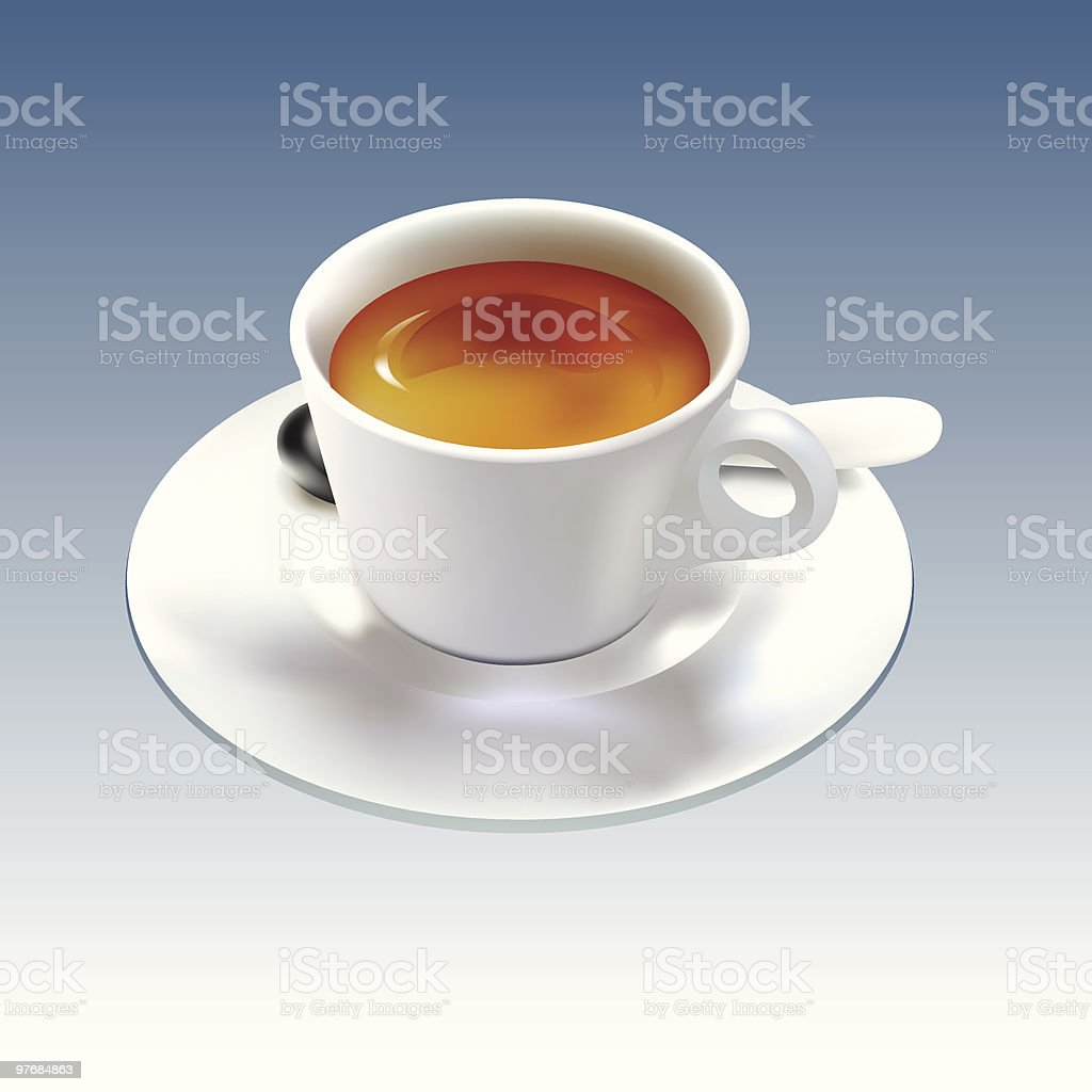 Coffe royalty-free stock vector art