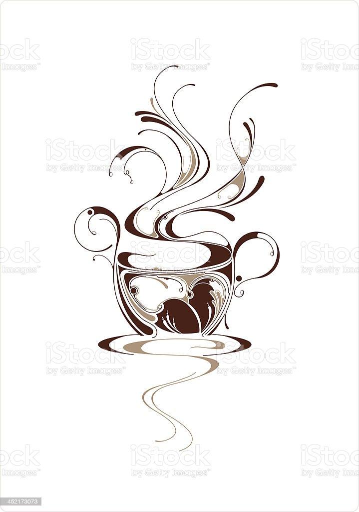 Coffee Art royalty-free stock vector art