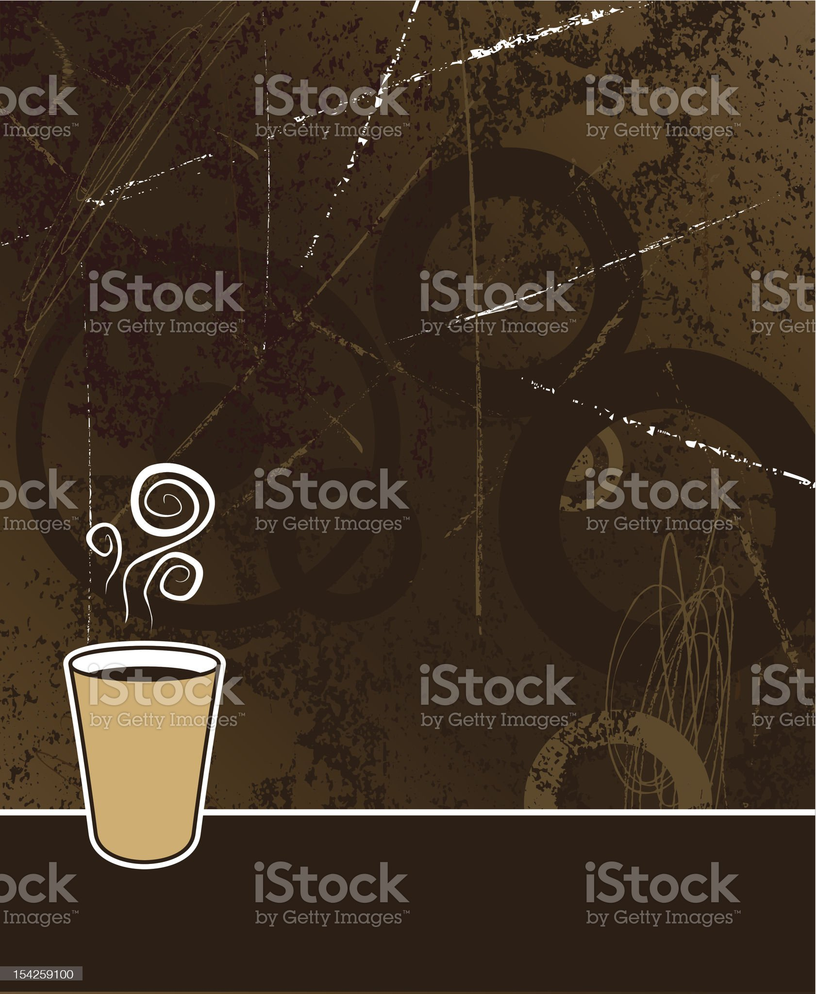 coffee background royalty-free stock vector art