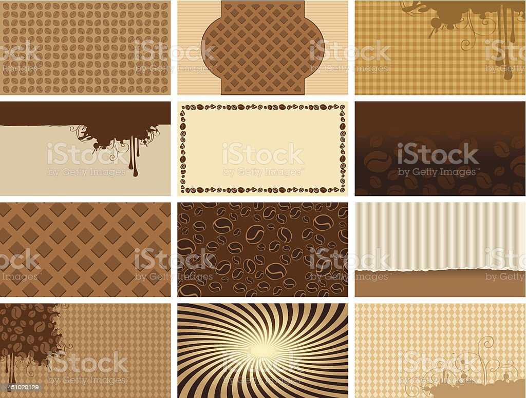 coffee backgrounds royalty-free stock vector art