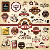 Coffee Badges & Labels