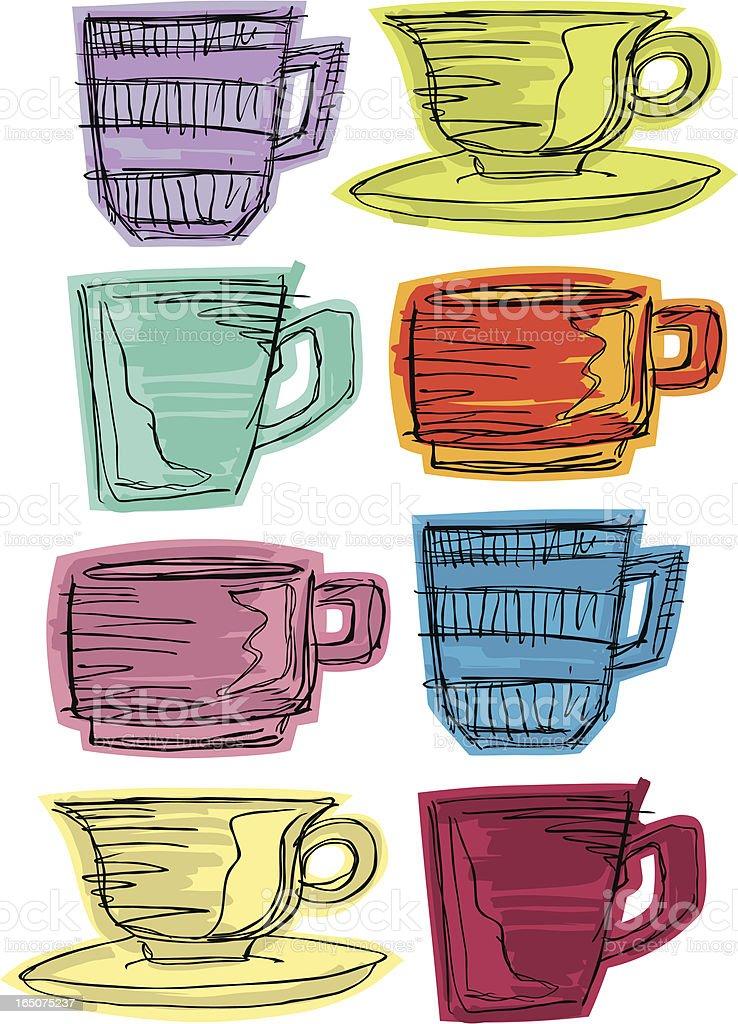Coffee Break royalty-free stock vector art