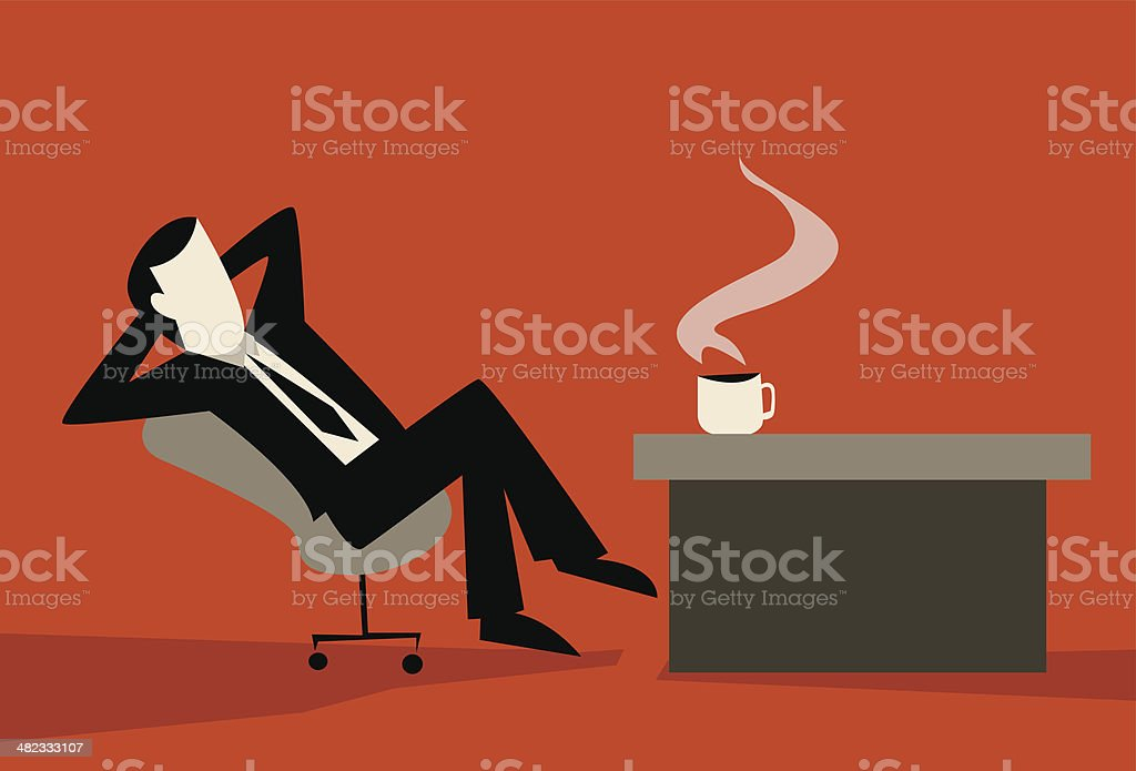 Coffee Break vector art illustration