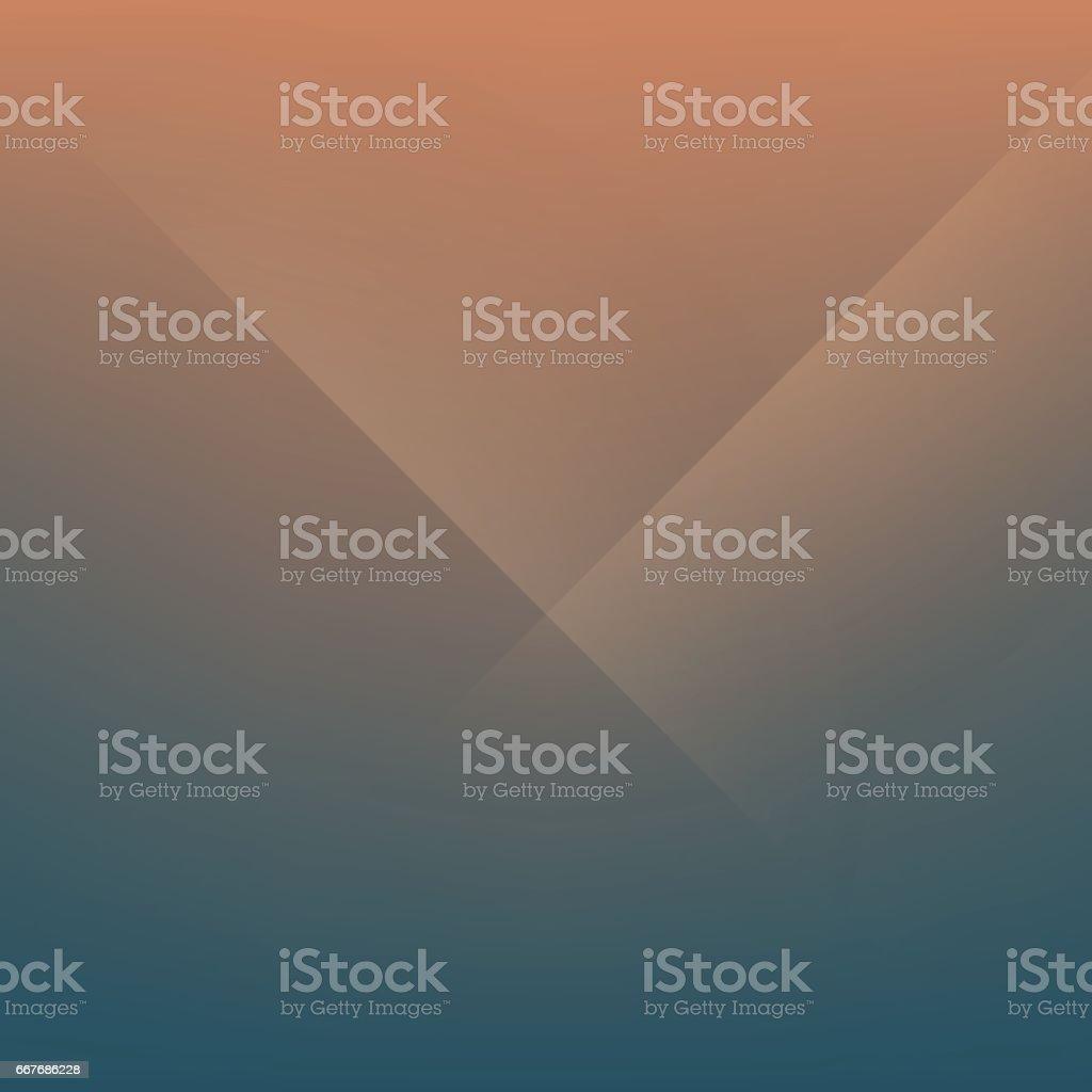 Coffee Brown Minimal Fold Line Background vector art illustration