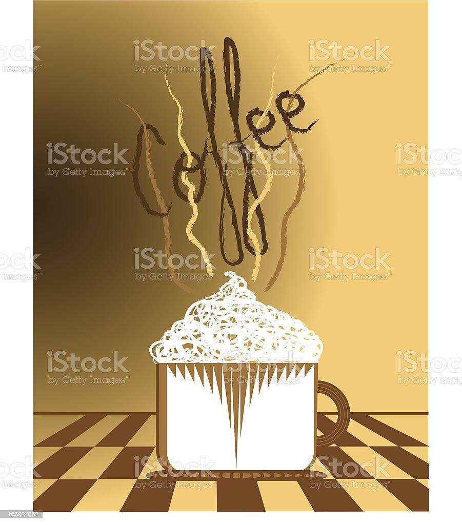 Coffee concept  (eps) royalty-free stock vector art