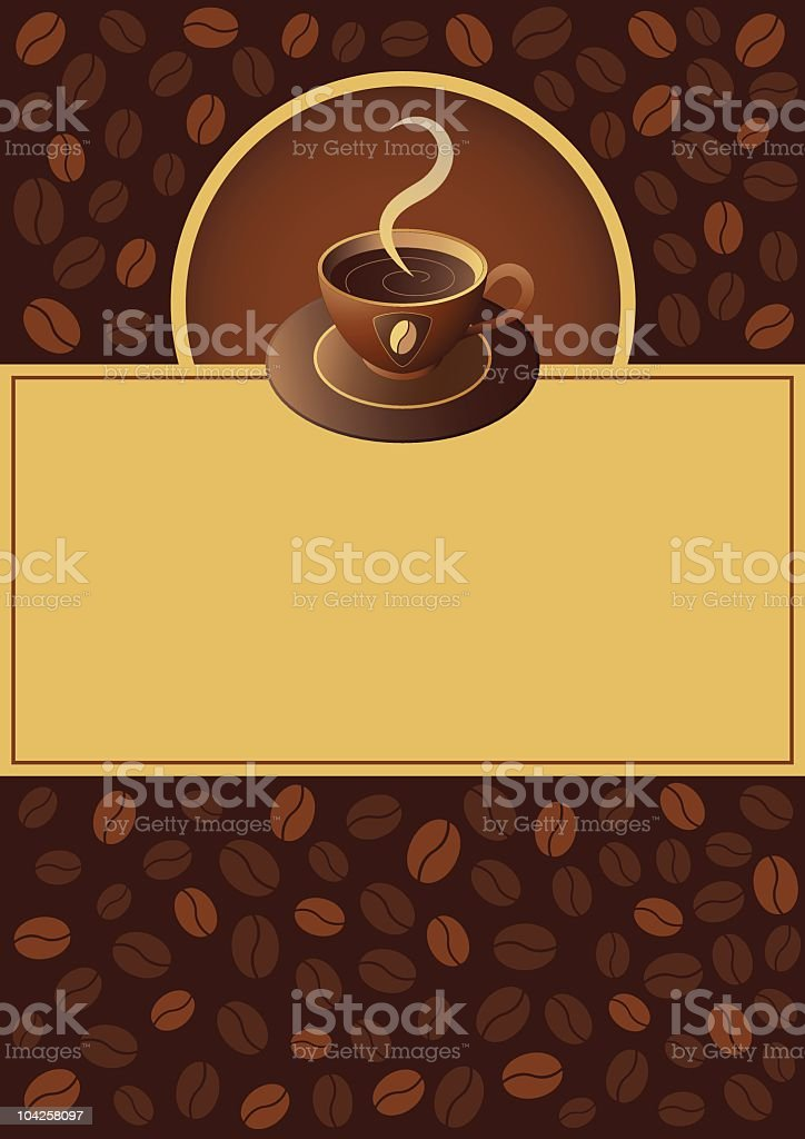 Coffee cup design elements vector art illustration