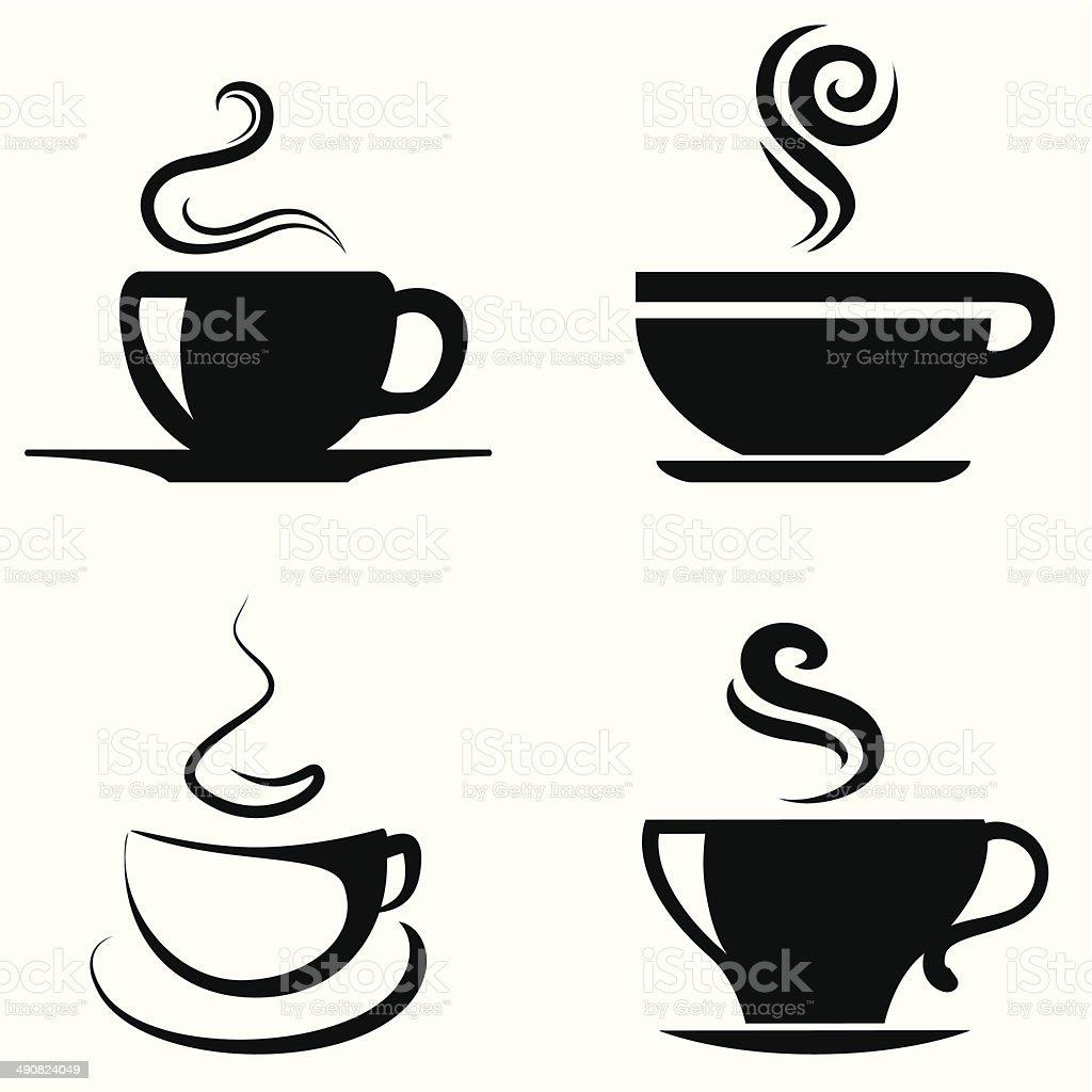 Coffee Cup icon- Vector vector art illustration