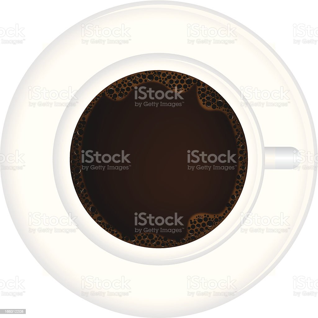 Coffee cup illustration royalty-free stock vector art