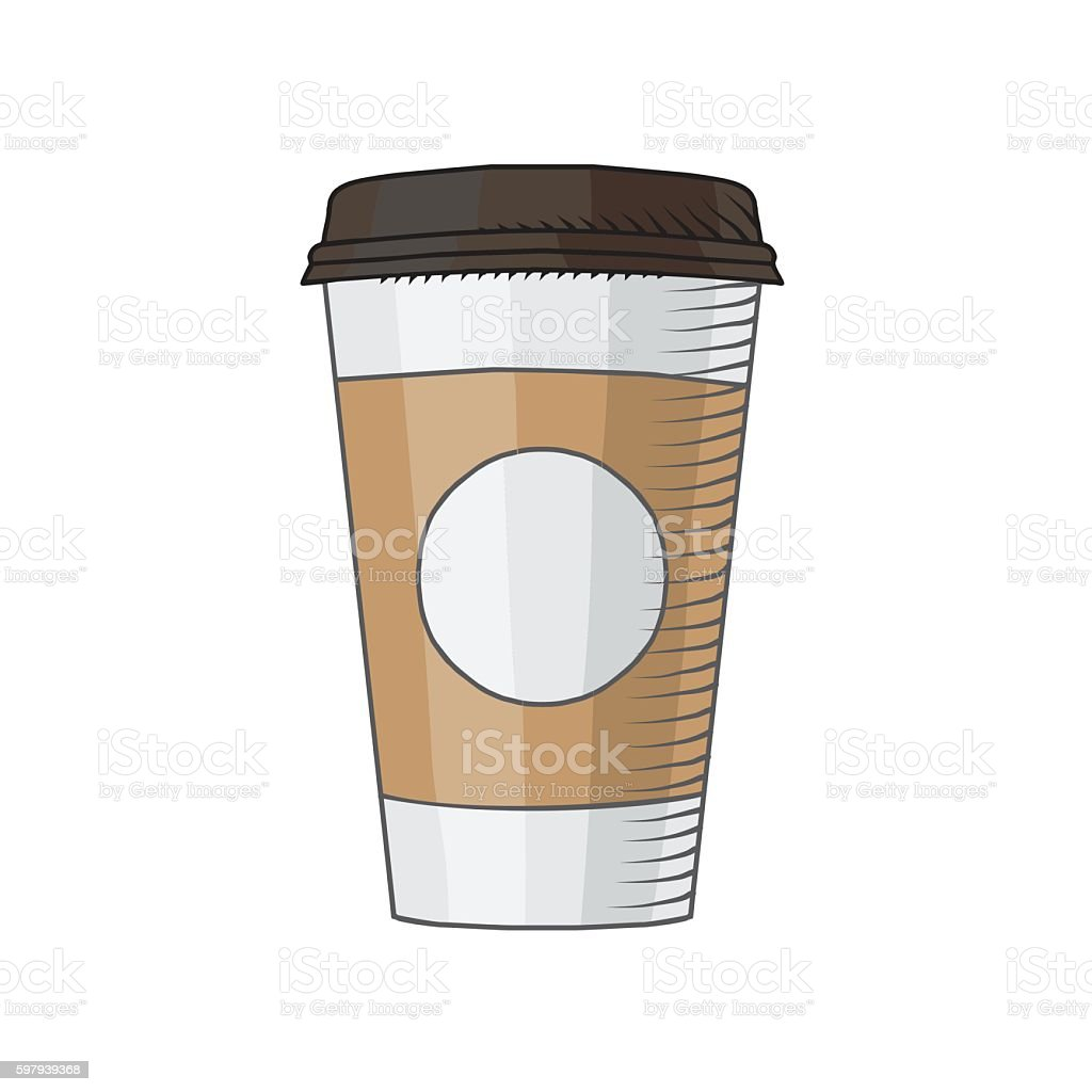 Coffee Cup Isolated illustration vector art illustration
