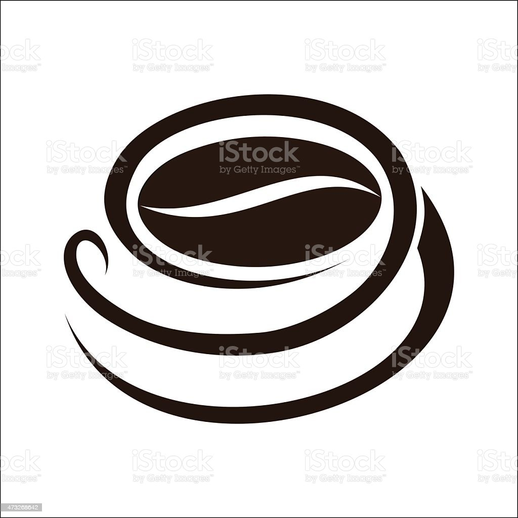 Coffee cup symbol royalty-free stock vector art