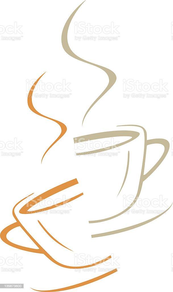 Coffee cup - vector icon royalty-free stock vector art