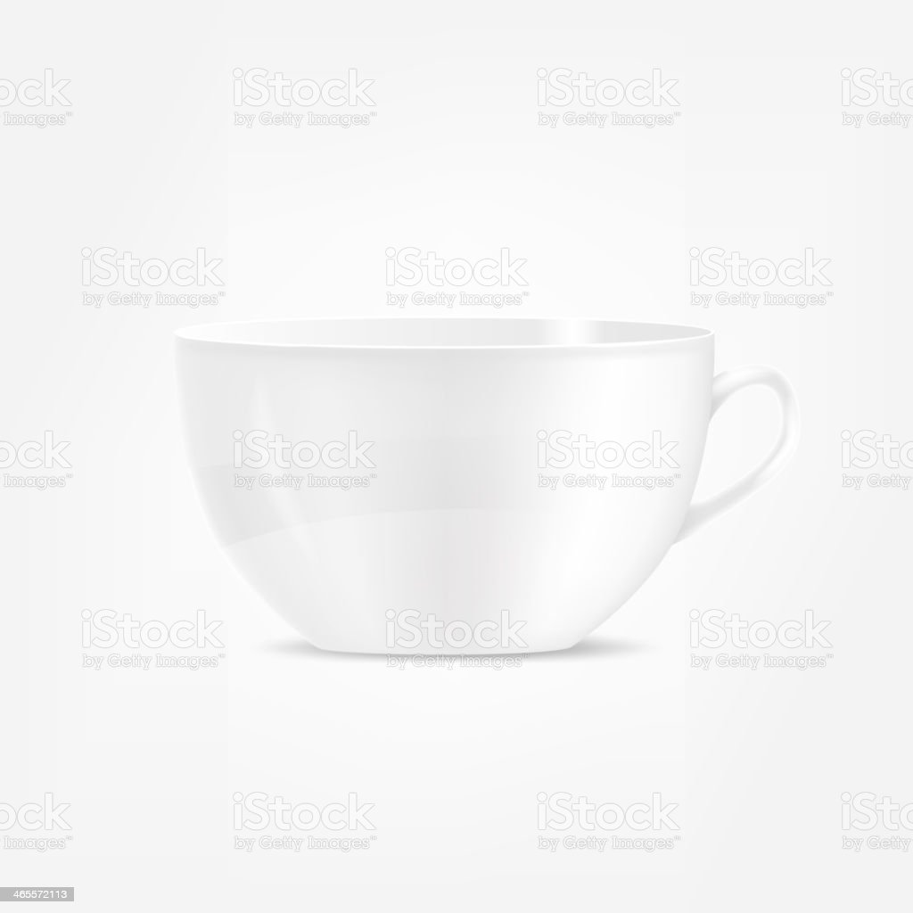 Coffee cup. Vector illustration royalty-free stock vector art