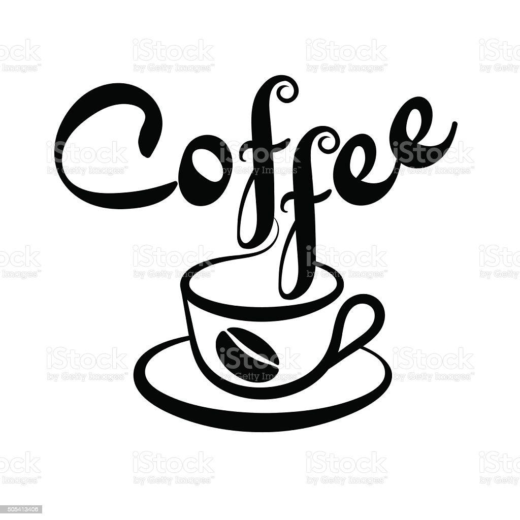 coffee cup vector vector art illustration