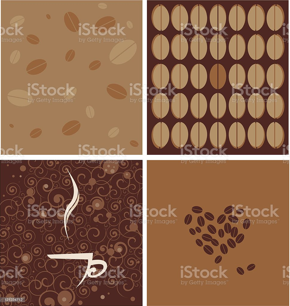 coffee decoration royalty-free stock vector art