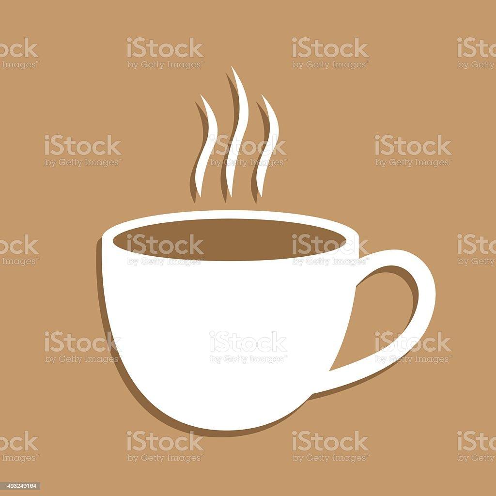 Coffee Icon vector art illustration
