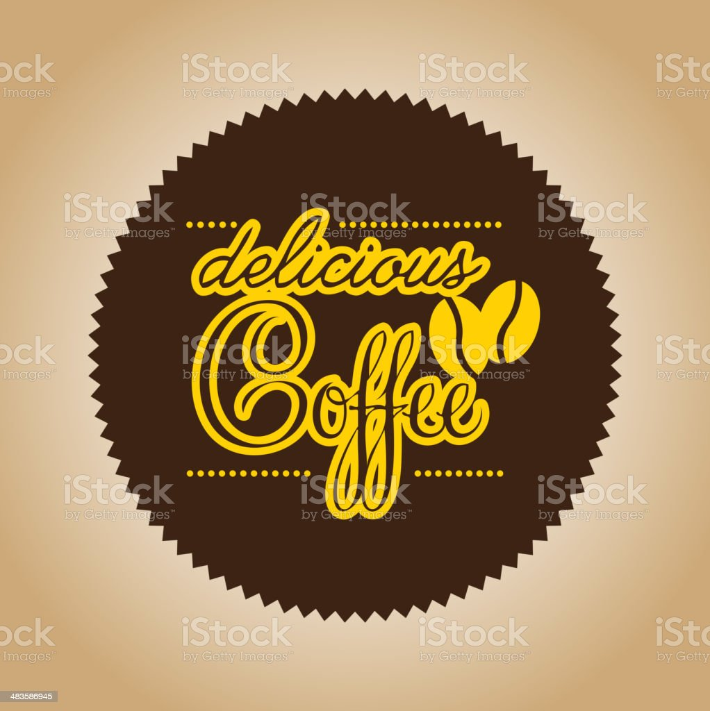 coffee label royalty-free stock vector art
