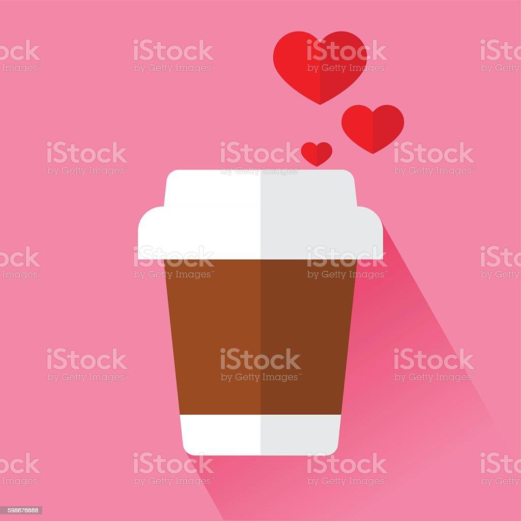 Coffee Lover vector art illustration