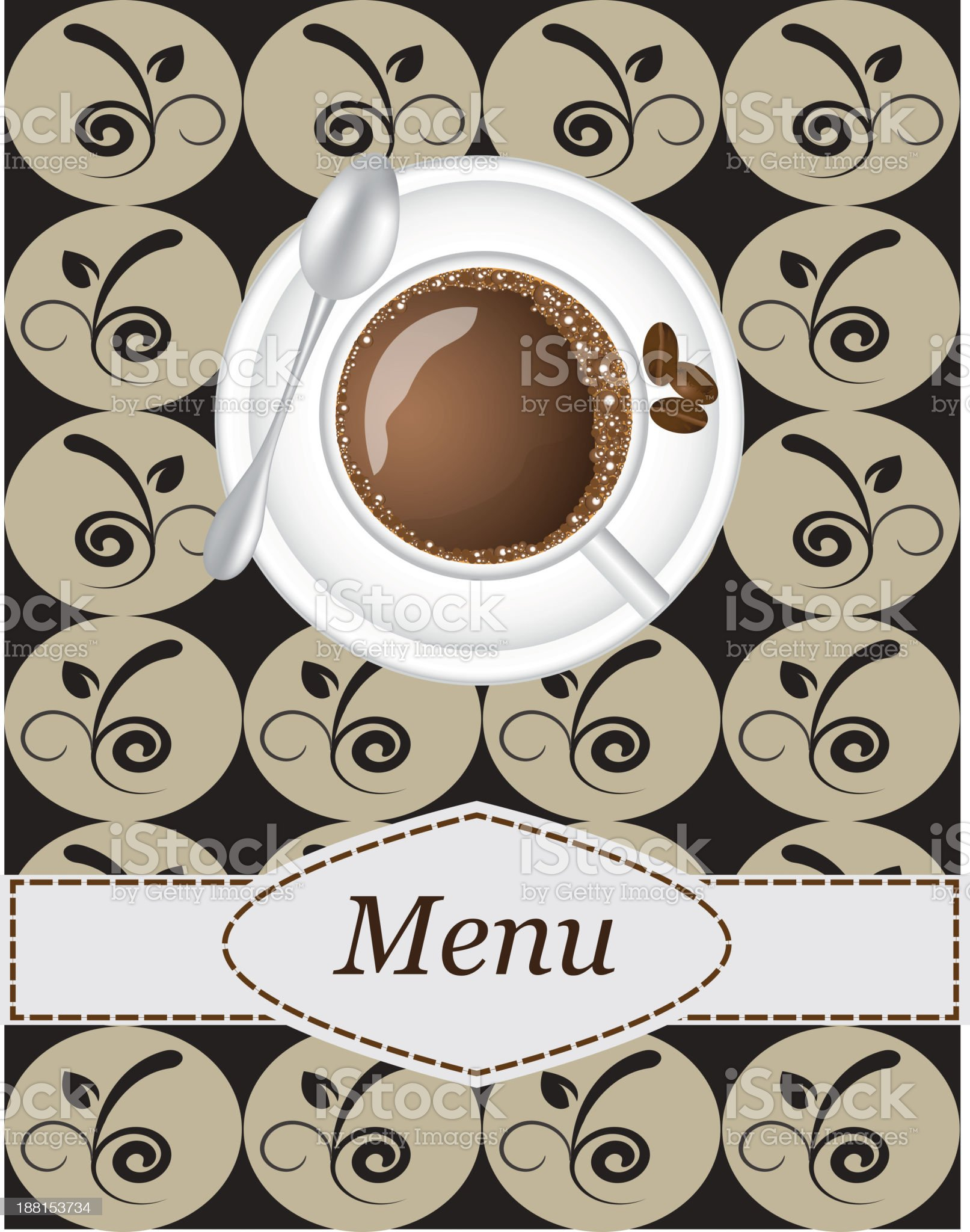 coffee menu royalty-free stock vector art