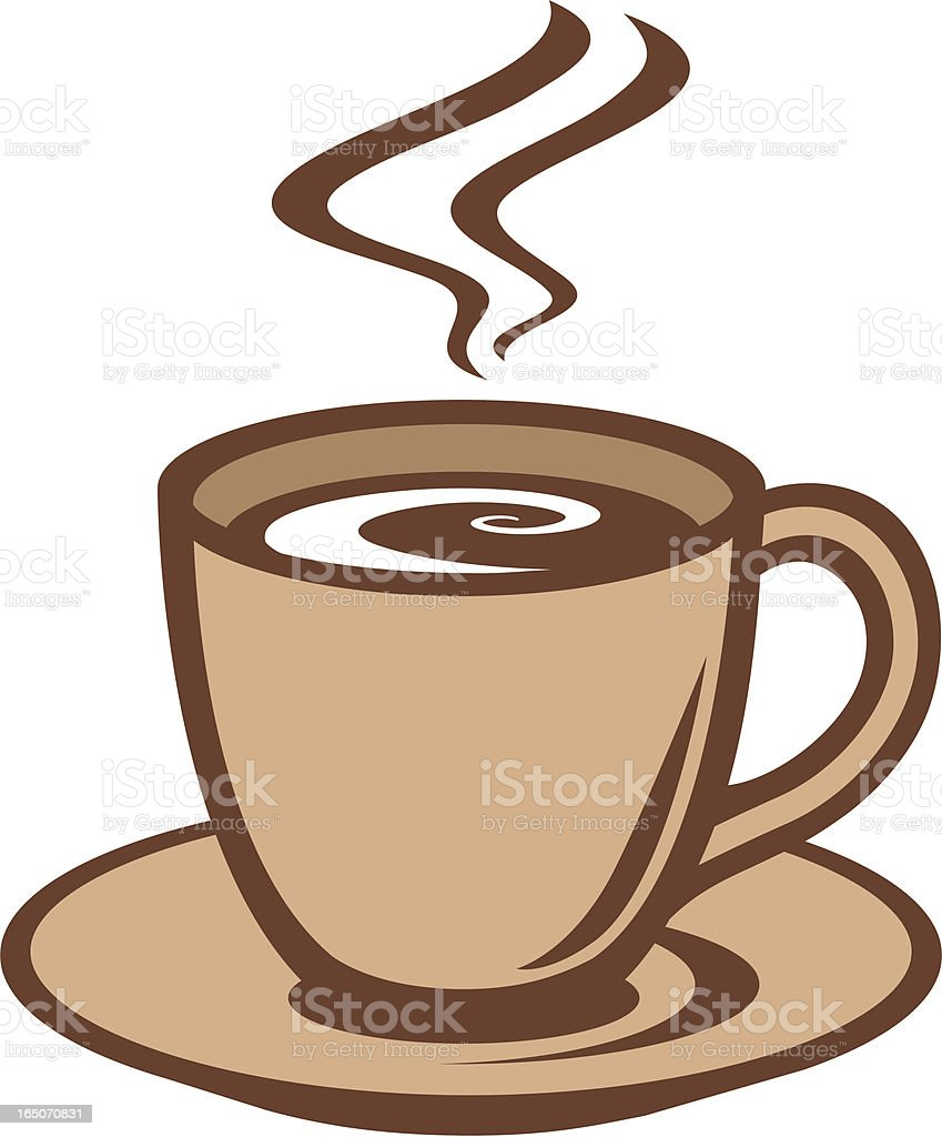 Coffee or Tea Cup vector art illustration