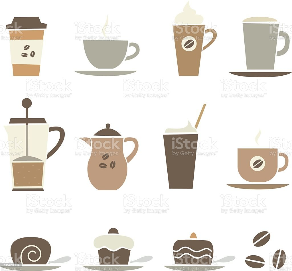coffee stuff royalty-free stock vector art