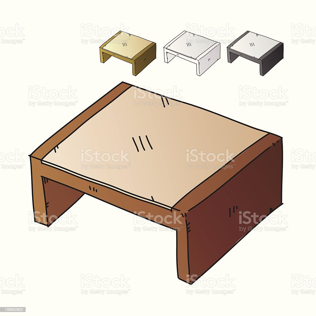 Coffee Table royalty-free stock photo
