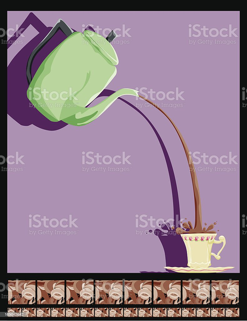 Coffee Tea Or... royalty-free stock vector art