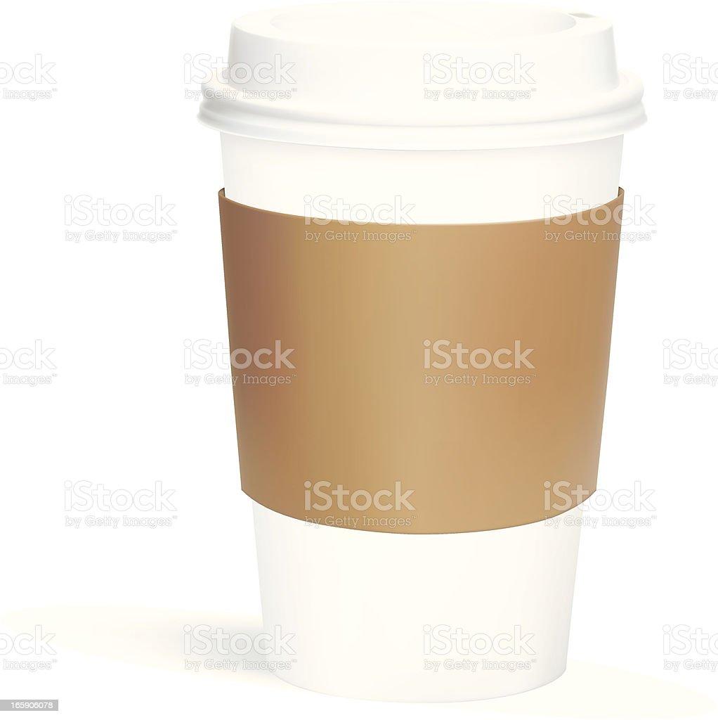 Coffee To Go vector art illustration