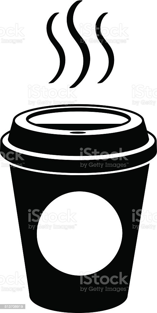 Coffee To Go vector art illustration
